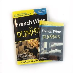 Lot(2) French Wine For Dummies Original & Pocket